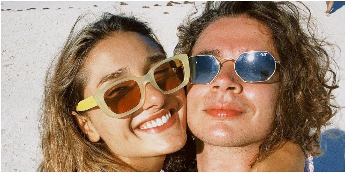 Sasha Meneghel ao lado de João Figueiredo, seu noivo (Foto: Reprodução/ Instagram)