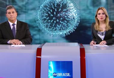 Rachel Sheherazade e Carlos Nascimento