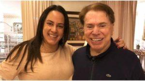 SIlvia Abravanel contou detalhes de sua relação com Silvio Santos (Foto: Reprodução)