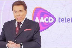 O apresentador Silvio Santos. do SBT. foi proibido de retornar - Foto: Reprodução