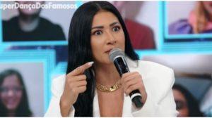 Simaria foi confrontada por Faustão ao vivo na Globo - Foto: Reprodução