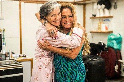 Cássia Kiss e Susana Vieira trocam alfinetadas (Foto: Divulgação/ TV Globo)