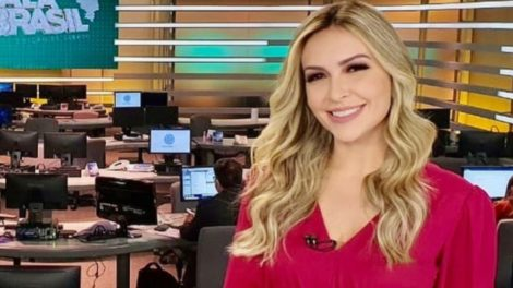 Thalita Oliveira é afastada do Fala Brasil (Foto: Reprodução)
