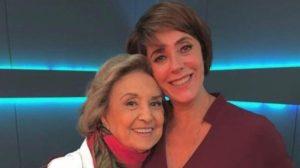 Christiane Torloni é herdeira artística de Eva Wilma e o relacionamento de anos das atrizes explica isso (Foto: Reprodução)