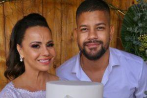 Viviane Araújo se casou com Guido Militão e ex-namorado, Radamés, postou indireta (Foto: Reprodução)