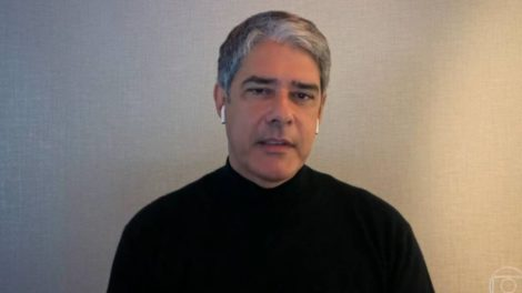William Bonner desaba após pedir para sair de Jornal Nacional (Foto: Reprodução/Globo)