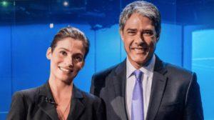 """William Bonner e Renata Vasconcellos são âncoras do """"Jornal Nacional"""" (Foto: Divulgação/TV Globo)"""