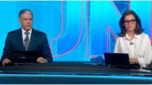 William Bonner e Renata Vasconcellos, da Globo - Foto: Reprodução