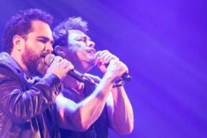Zezé Di Camargo e Luciano tem briga no camarim exposta (Foto: Reprodução/Instagram)