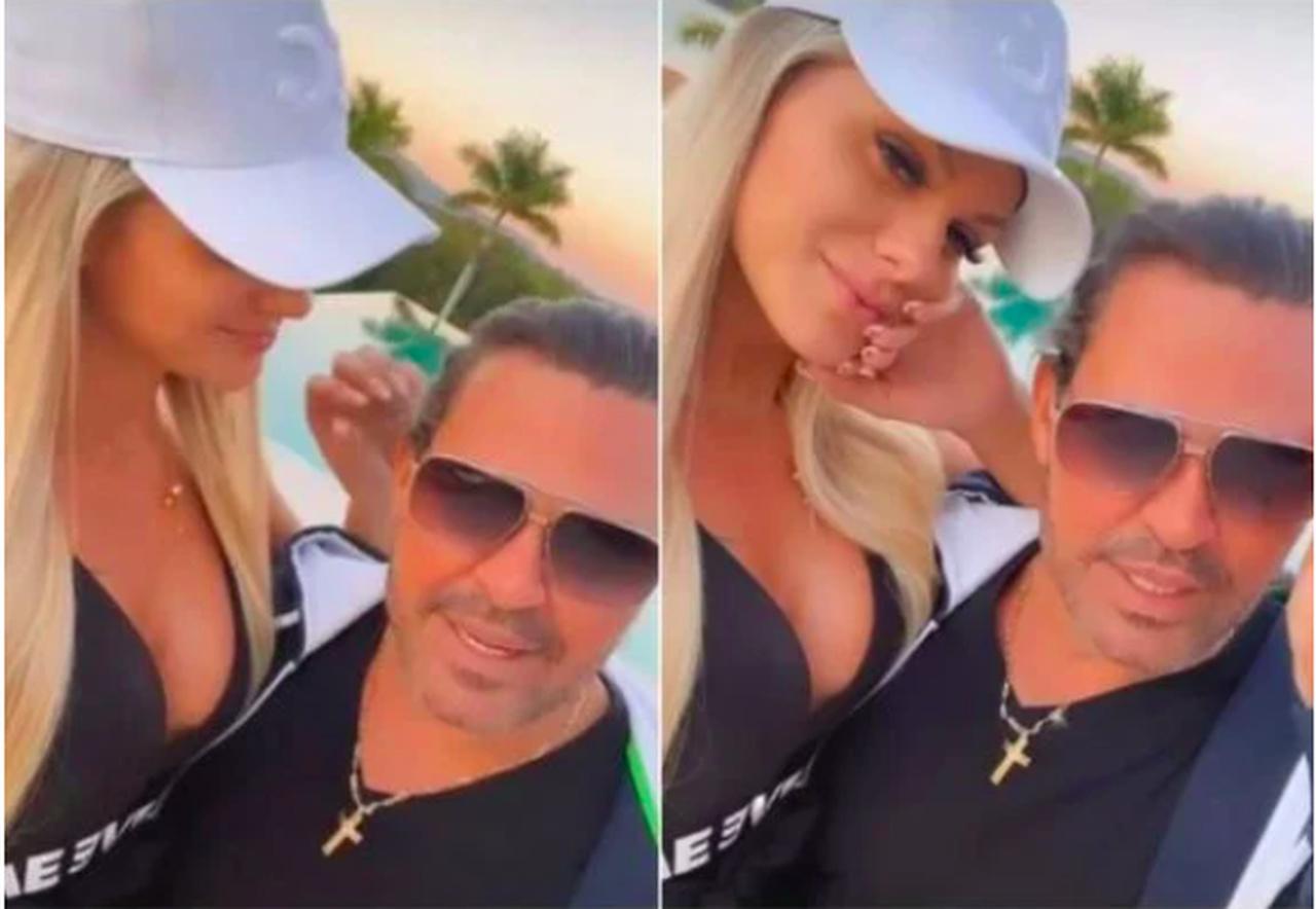 """Eduardo Costa, após ser pivô de separação, assume amante: """"Tem dona"""""""